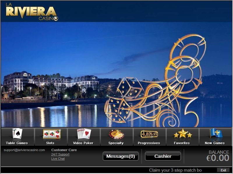 La Riviera casino : le luxe et l'élégance de la Riviera française en ligne