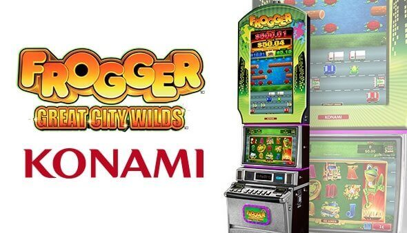Jeux en ligne fournis par Konami