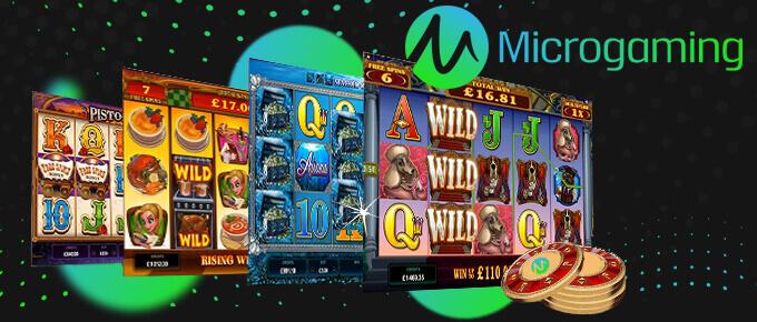 Microgaming : Plus de 700 jeux de casino en ligne de qualité