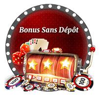 Bonus sans dépôt dans le casino en ligne français