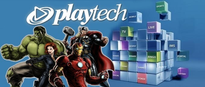 Logiciel et jeux en ligne sur Playtech