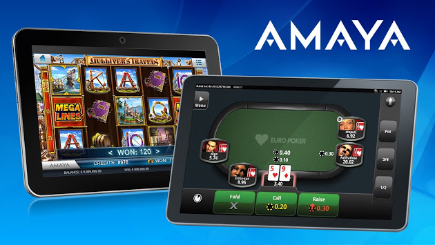 Logiciel et jeux disponibles dans les casinos en ligne Amaya