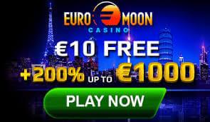 Bonus en ligne et promotions sur EuroMoon casino