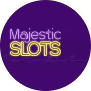 casinos en ligne: Majestic slots casino logo