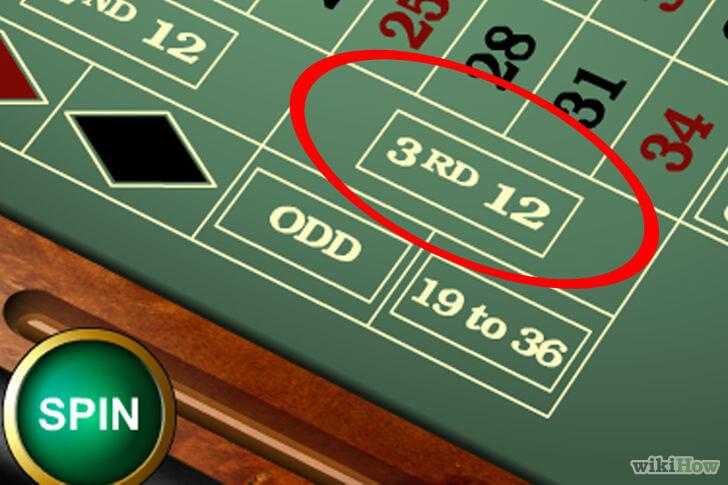 Règles roulette : Differents paris sur la roulette