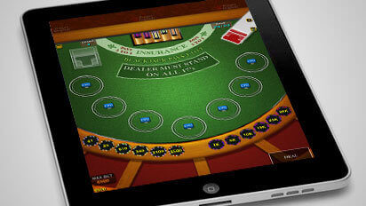 Blackjack sur mobile en France