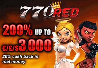 770Red casino : Bonus en ligne et promotions en ligne gratuits