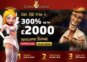 Bonus gratuits et promotions en ligne sur 21Grand casino