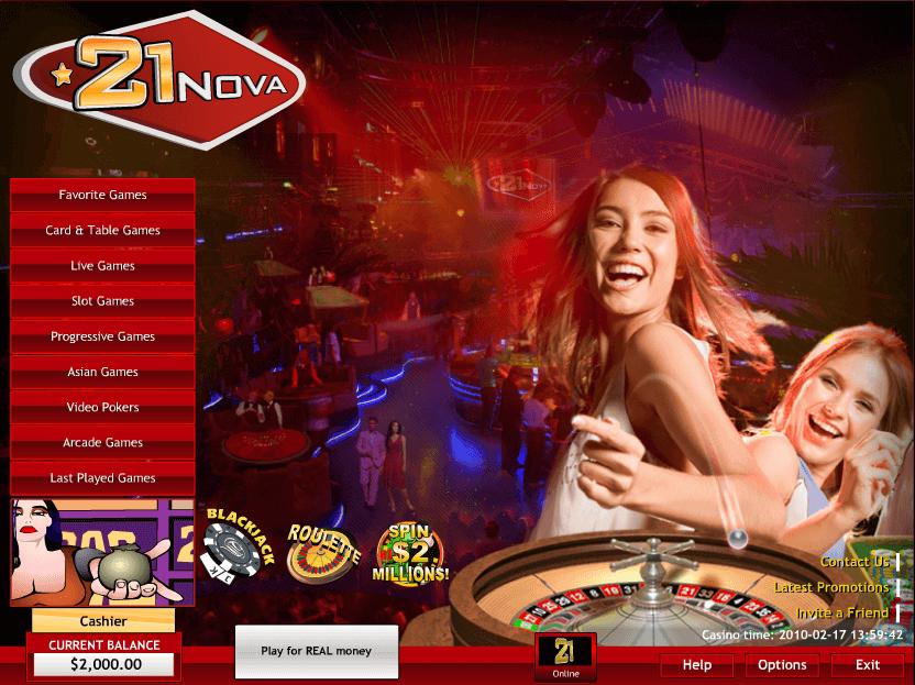 Bonus gratuits en ligne et promotions sur 21Nova casino pour joueurs français