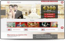 Logiciel en ligne gratuit et jeux de casino disponibles sur Casino Clic