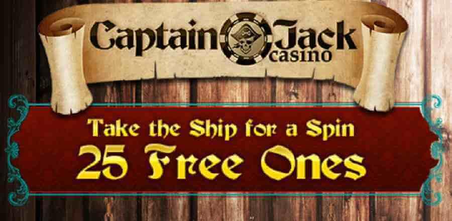 Jeux de casino gratuits sur Captain Jack Casino pour joueurs français