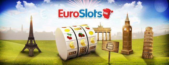 EuroSlots casino : Recevez un bonus gratuit de 300€ plus 20 tours gratuits