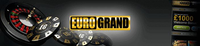 Jouez sur le casino mobile EuroGrand casino sans dépôt