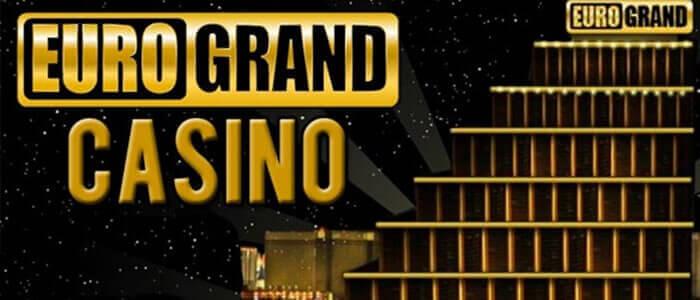 EuroGrand casino : Recevez 1000€ gratuits en bonus sans dépôt