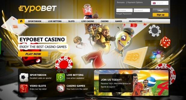 Casino Eypobet : Recevez votre bonus gratuit en ligne de 100€