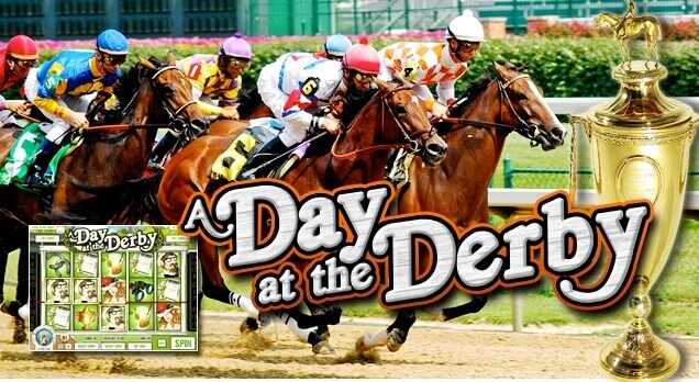 A Day At The Derby : Machine à sous en ligne RTG