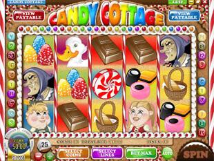 Bonus en ligne gratuits sur la machine à sous Candy Cottage