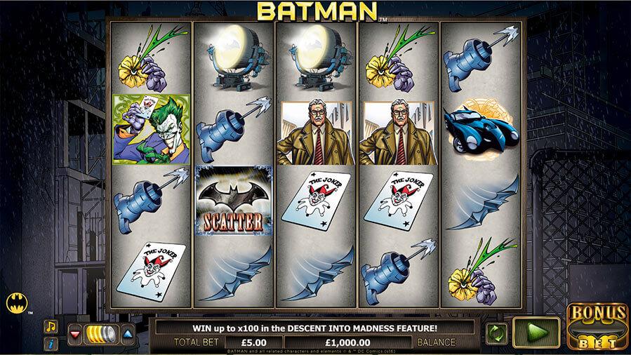Jouez à la machine à sous Batman gratuit dans les casinos en France