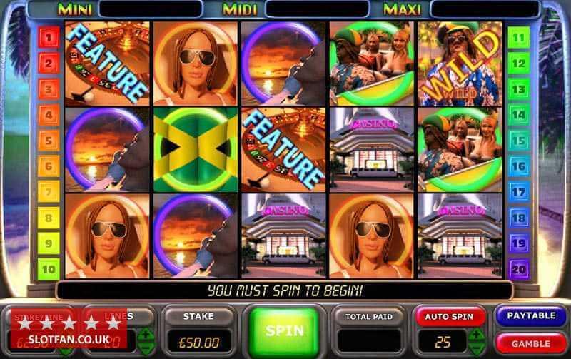 Caribbean Nights :Slot en ligne gratuit du logiciel OpenBet