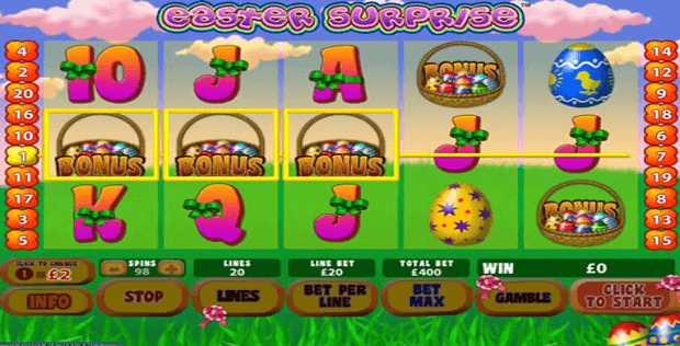 Machines à sous Easter Surprise | Casino.com France