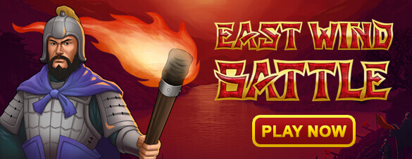 East Wind Battle : Jeu de casino en ligne gratuit de GamesOS