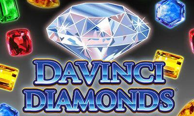 Da Vinci Diamonds : machine à sous en ligne IGT sans dépôt en France