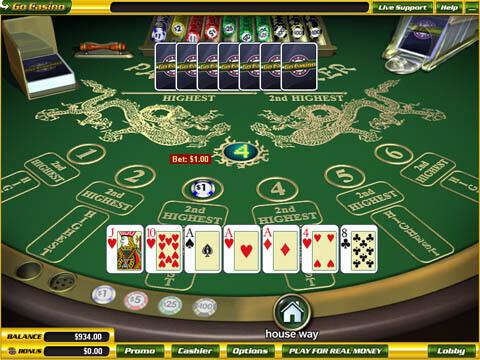 Jouez au Red dog gratuit et sans téléchargement dans les casinos français